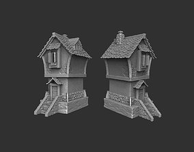 3D printable model Medieval house lego