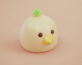 miniatures Turnip Chick - Free Miniature Model