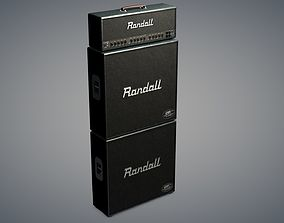Kirk Hammett Randall guitar Amp 3D model