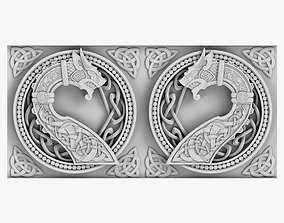 3D Celtic Ornament architectural
