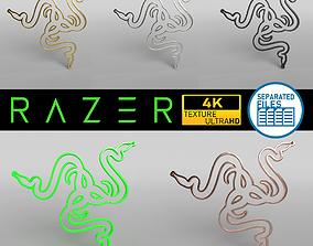 Razer Logo v1 Pack 3D model