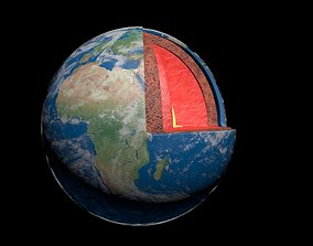 Earth Magma 3D model