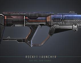 3D model VR / AR ready Rocket Launcher