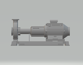 3D printable model Wilo ATMOS Giga N Miniature