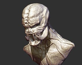 3D printable model Creature Bust 5