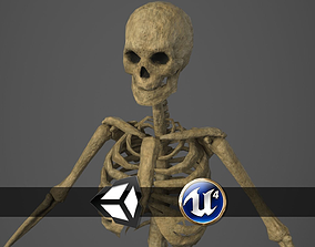 Skeleton - PBR - Animated - Low Poly 3D model