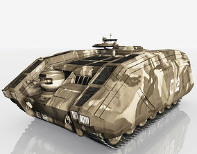 CDF APC Armoured Personnel Carrier 3D model