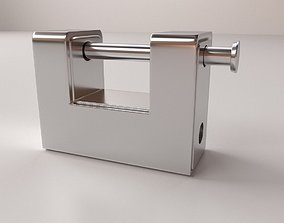 3D model Padlock v2