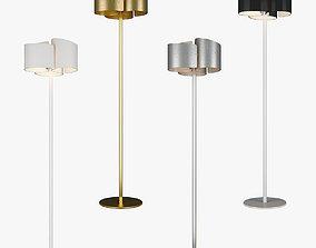 3D model Pittore Lightstar Floor lamp lightstar