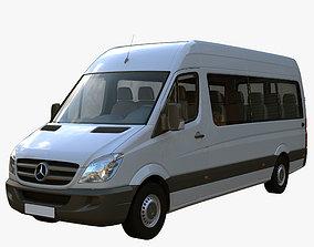 3D model Bus Sprinter passenger