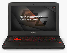 Asus ROG GL502VS 3D model