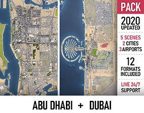 3D asset Abu Dhabi and Dubai