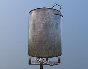 3D model low-poly Brazier