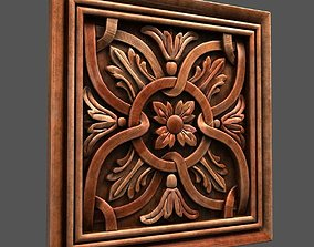 Wall Wood Panel 3D