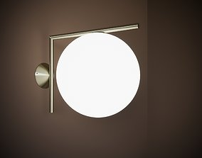 ic wall lamp flos 3D model