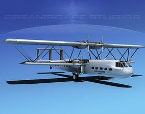 3D Handley Page HP42 Hannibal V02