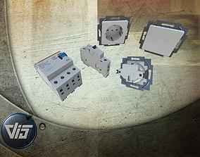3D asset Electrical Installation PBR