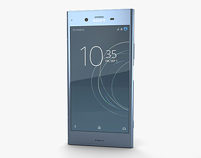 3D Sony Xperia XZ1 Moonlit Blue