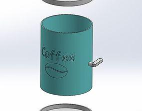 tools 3D printable model Coffe dispencer for moka pot