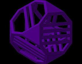 3D print model Dice