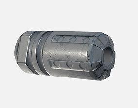 Tactical Fire Compensator 3D model