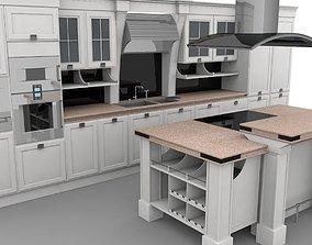 de Kitchen 3D model