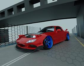 Mazda RX-7 FD3S 3D model