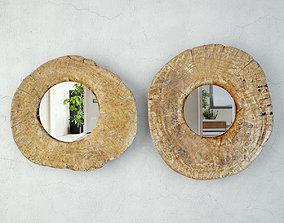 3D model Vintage Javanese Mirrors