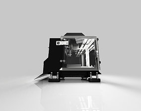 workbench size three axis cnc mill 3D printable model