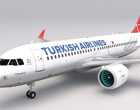 3D model Turkish Airlines A320