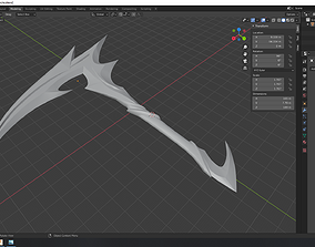 3D print model Akali Weapons - Kda - All Out