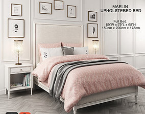 3D Maelin Upholstered Bed