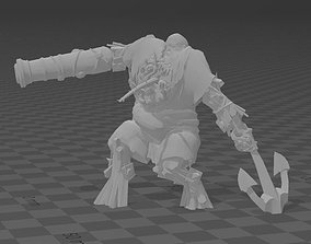 pirate maneaters - ogre mawtribes - 3D printable model 1
