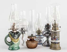 Old-Lamp-Set 3D model