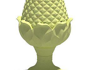 Egg Shaped Sculpture 3D