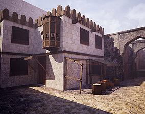3D asset Modular Arab City