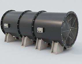 3D model Ventilation Fan