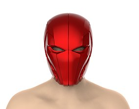 Red Hood Helmet Injustice 2 jasontodd 3D printable model
