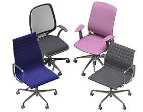 Office Chair Pack 14 3D asset