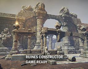 3D model Ruins constructor