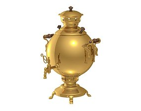 ceremony samovar 3D model