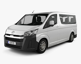 3D Toyota Hiace Passenger Van L1H1 Deluxe 2019