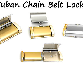 3D print model Cuban Chain Belt Lock