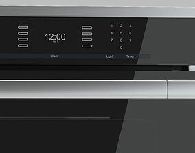 3D Modern convection oven