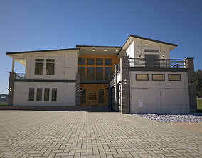 Architectural view 3D
