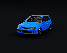 1990 Toyota Starlet GT Turbo EP82 3D model