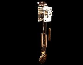 3D model Pendulum Clock Mechanism