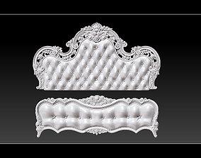 Bed 3D relief models