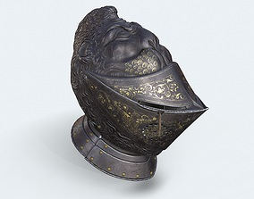 3D asset Helmet of Henry