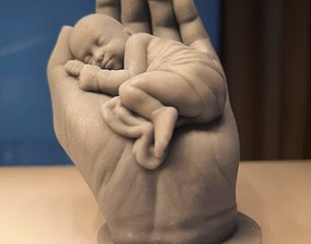 3D printable model decorative baby